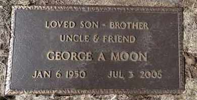 MOON, GEORGE A. - Yavapai County, Arizona | GEORGE A. MOON - Arizona Gravestone Photos