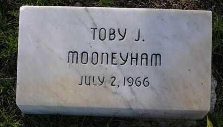 MOONEYHAM, TOBY J. - Yavapai County, Arizona | TOBY J. MOONEYHAM - Arizona Gravestone Photos
