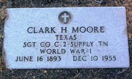 MOORE, CLARK H. - Yavapai County, Arizona   CLARK H. MOORE - Arizona Gravestone Photos