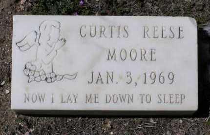 MOORE, CURTIS REESE - Yavapai County, Arizona | CURTIS REESE MOORE - Arizona Gravestone Photos