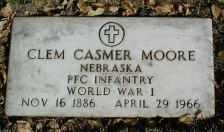 MOORE, CLEM CASMER - Yavapai County, Arizona | CLEM CASMER MOORE - Arizona Gravestone Photos