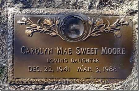 SWEET MOORE, CAROLYN MAE - Yavapai County, Arizona | CAROLYN MAE SWEET MOORE - Arizona Gravestone Photos