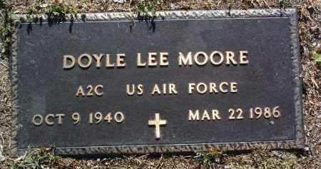 MOORE, DOYLE LEE - Yavapai County, Arizona | DOYLE LEE MOORE - Arizona Gravestone Photos