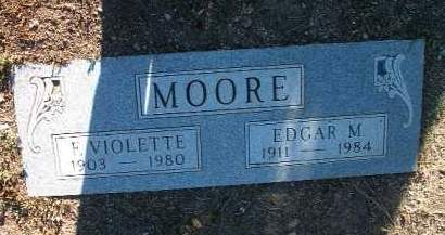 MOORE, EDGAR M. - Yavapai County, Arizona | EDGAR M. MOORE - Arizona Gravestone Photos
