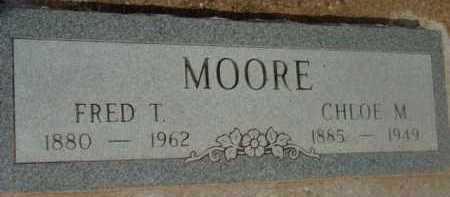 MOORE, FRED T. - Yavapai County, Arizona | FRED T. MOORE - Arizona Gravestone Photos