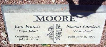 MOORE, NAOMA - Yavapai County, Arizona   NAOMA MOORE - Arizona Gravestone Photos