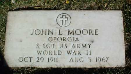 MOORE, JOHN L. - Yavapai County, Arizona | JOHN L. MOORE - Arizona Gravestone Photos