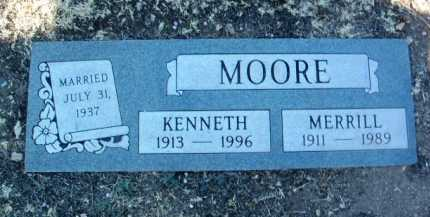MOORE, KENNETH W. - Yavapai County, Arizona | KENNETH W. MOORE - Arizona Gravestone Photos