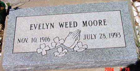 MOORE, MUEL EVELYN - Yavapai County, Arizona | MUEL EVELYN MOORE - Arizona Gravestone Photos