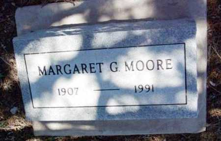 MOORE, MARGARET G. - Yavapai County, Arizona | MARGARET G. MOORE - Arizona Gravestone Photos