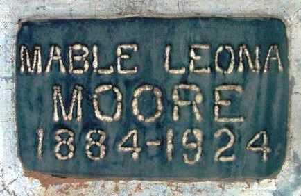 MOORE, MABLE LEONA - Yavapai County, Arizona | MABLE LEONA MOORE - Arizona Gravestone Photos