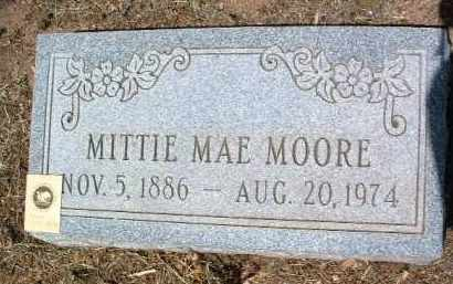 DEAN MOORE, MITTIE MAE - Yavapai County, Arizona | MITTIE MAE DEAN MOORE - Arizona Gravestone Photos