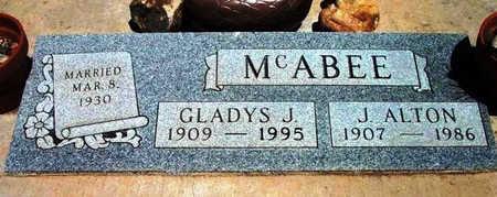 MOORE MCABEE, GLADYS J. - Yavapai County, Arizona   GLADYS J. MOORE MCABEE - Arizona Gravestone Photos