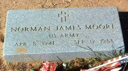 MOORE, NORMAN JAMES - Yavapai County, Arizona | NORMAN JAMES MOORE - Arizona Gravestone Photos