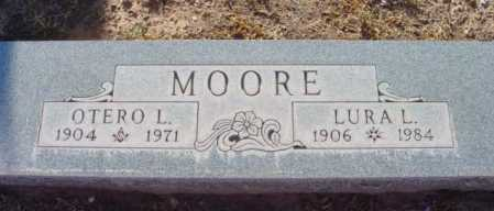 MOORE, LURA L. - Yavapai County, Arizona | LURA L. MOORE - Arizona Gravestone Photos