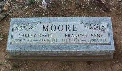MOORE, OAKLEY DAVID - Yavapai County, Arizona | OAKLEY DAVID MOORE - Arizona Gravestone Photos