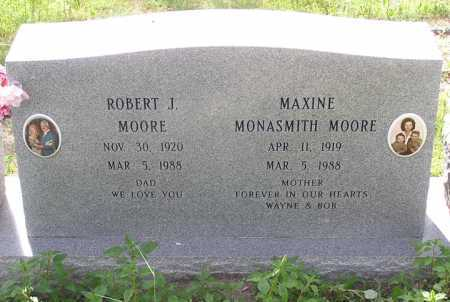 MOORE, MAXINE FRANCES - Yavapai County, Arizona | MAXINE FRANCES MOORE - Arizona Gravestone Photos