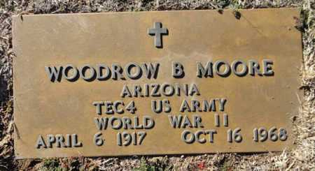 MOORE, WOODROW BARRETT - Yavapai County, Arizona | WOODROW BARRETT MOORE - Arizona Gravestone Photos