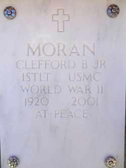 MORAN, CLEFFORD BRUCE - Yavapai County, Arizona | CLEFFORD BRUCE MORAN - Arizona Gravestone Photos