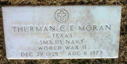 MORAN, THURMAN C. E. - Yavapai County, Arizona   THURMAN C. E. MORAN - Arizona Gravestone Photos