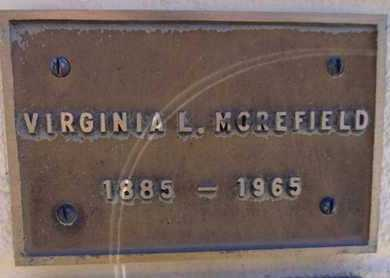 MOREFIELD, VIRGINIA L. - Yavapai County, Arizona | VIRGINIA L. MOREFIELD - Arizona Gravestone Photos