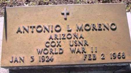 MORENO, ANTONIO L. - Yavapai County, Arizona | ANTONIO L. MORENO - Arizona Gravestone Photos