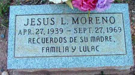 MORENO, JESUS L. - Yavapai County, Arizona | JESUS L. MORENO - Arizona Gravestone Photos