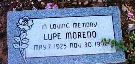 YBARRA MORENO, LUPE A. - Yavapai County, Arizona | LUPE A. YBARRA MORENO - Arizona Gravestone Photos