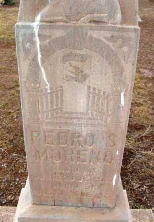 MORENO, PEDRO S. - Yavapai County, Arizona | PEDRO S. MORENO - Arizona Gravestone Photos