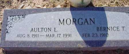 MORGAN, AULTON L. - Yavapai County, Arizona   AULTON L. MORGAN - Arizona Gravestone Photos