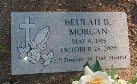 MORGAN, BEULAH BERDIE - Yavapai County, Arizona | BEULAH BERDIE MORGAN - Arizona Gravestone Photos