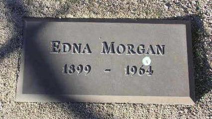 MORGAN, EDNA - Yavapai County, Arizona | EDNA MORGAN - Arizona Gravestone Photos