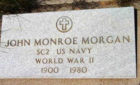 MORGAN, JOHN MONROE - Yavapai County, Arizona | JOHN MONROE MORGAN - Arizona Gravestone Photos