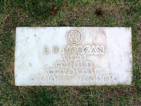 MORGAN, L. D. - Yavapai County, Arizona   L. D. MORGAN - Arizona Gravestone Photos