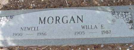 MORGAN, NEWELL - Yavapai County, Arizona   NEWELL MORGAN - Arizona Gravestone Photos