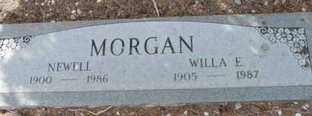 MORGAN, NEWELL N. - Yavapai County, Arizona   NEWELL N. MORGAN - Arizona Gravestone Photos