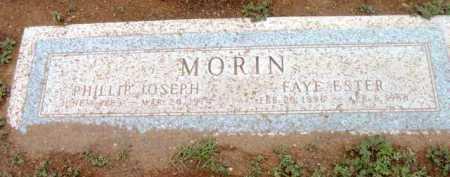 MORIN, FAYE ESTER - Yavapai County, Arizona | FAYE ESTER MORIN - Arizona Gravestone Photos
