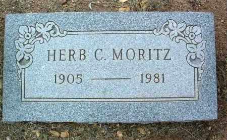 MORITZ, HERBERT C. (HERB) - Yavapai County, Arizona   HERBERT C. (HERB) MORITZ - Arizona Gravestone Photos