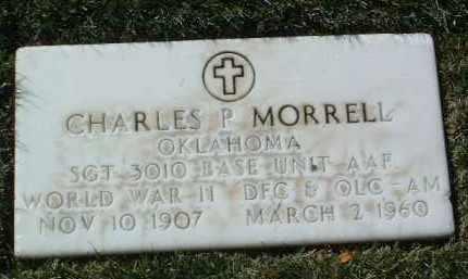 MORRELL, CHARLES P. - Yavapai County, Arizona | CHARLES P. MORRELL - Arizona Gravestone Photos