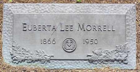 MORRELL, EUBERTA LEE - Yavapai County, Arizona   EUBERTA LEE MORRELL - Arizona Gravestone Photos