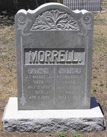 MORRELL, JOHN FARRIS - Yavapai County, Arizona | JOHN FARRIS MORRELL - Arizona Gravestone Photos