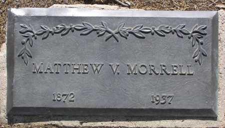 MORRELL, MATTHEW VILES - Yavapai County, Arizona | MATTHEW VILES MORRELL - Arizona Gravestone Photos