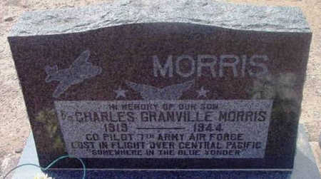 MORRIS, CHARLES GRANVILLE - Yavapai County, Arizona | CHARLES GRANVILLE MORRIS - Arizona Gravestone Photos