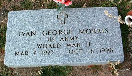 MORRIS, IVAN GEORGE - Yavapai County, Arizona | IVAN GEORGE MORRIS - Arizona Gravestone Photos