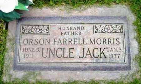 MORRIS, ORSON FARRELL - Yavapai County, Arizona | ORSON FARRELL MORRIS - Arizona Gravestone Photos