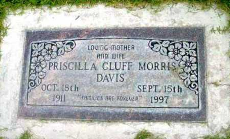 DAVIS, PRISCILLA - Yavapai County, Arizona | PRISCILLA DAVIS - Arizona Gravestone Photos