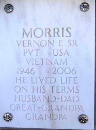 MORRIS, VERNON E. - Yavapai County, Arizona   VERNON E. MORRIS - Arizona Gravestone Photos