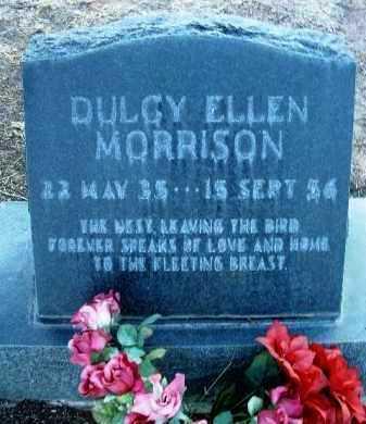 MORRISON, DULCY ELLEN - Yavapai County, Arizona   DULCY ELLEN MORRISON - Arizona Gravestone Photos