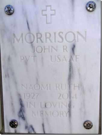 MORRISON, JOHN R. - Yavapai County, Arizona | JOHN R. MORRISON - Arizona Gravestone Photos