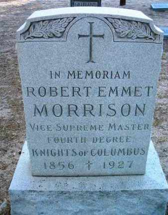 MORRISON, ROBERT EMMET - Yavapai County, Arizona | ROBERT EMMET MORRISON - Arizona Gravestone Photos